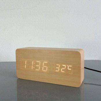 Bedroom Alarm Clock Display Digital Table Clock 4