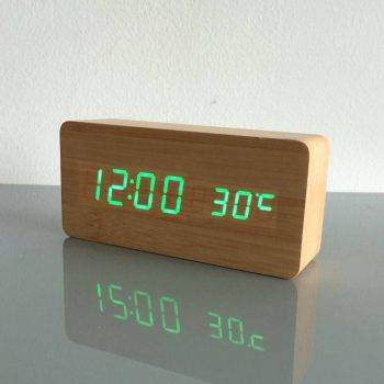 Bedroom Alarm Clock Display Digital Table Clock 5