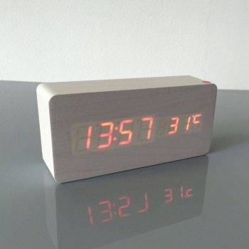 Bedroom Alarm Clock Display Digital Table Clock 1