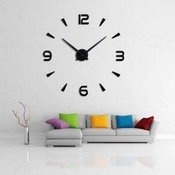 Oversized Wall Clock - Sticker Decorative Clocks 2