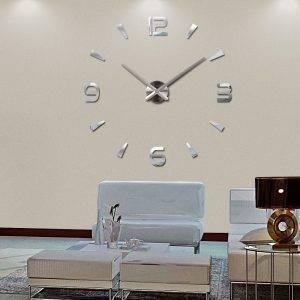 Oversized Wall Clock – Sticker Decorative Clocks