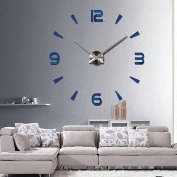 Oversized Wall Clock - Sticker Decorative Clocks 4