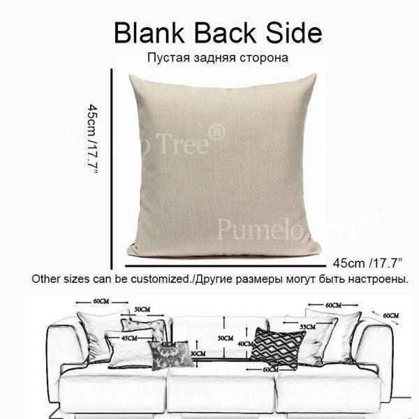 Outdoor Pillows Palm Leaf Cushion