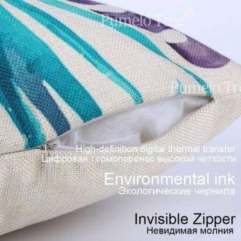 Outdoor Pillows Palm Leaf Cushion 7