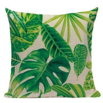 Outdoor Pillows Palm Leaf Cushion 2