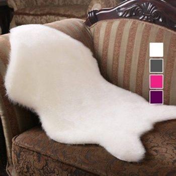 Large Living Room Rugs Artificial Sheepskin Carpet 1