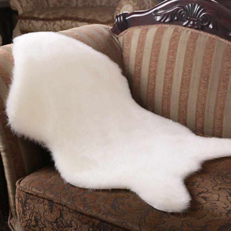 Large Living Room Rugs Artificial Sheepskin Carpet