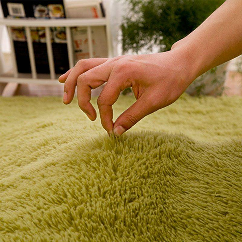 Living Room Rugs Fluffy Round Carpets
