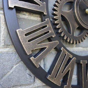 Oversized Decorative Wall Clock Handmade 3D 4