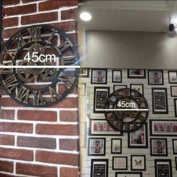 Oversized Decorative Wall Clock Handmade 3D 5