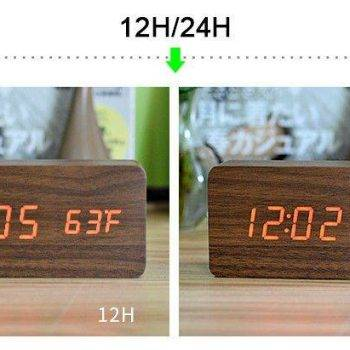 Bedroom Alarm Clock Display Digital Table Clock 7