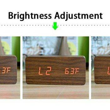 Bedroom Alarm Clock Display Digital Table Clock 10