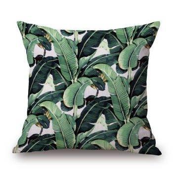 Outdoor Pillows Palm Leaf Cushion 3