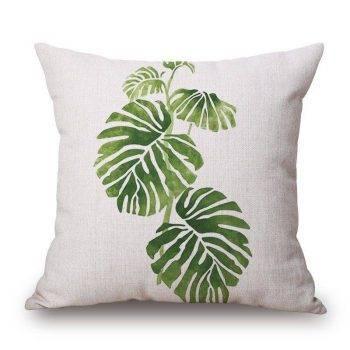Outdoor Pillows Palm Leaf Cushion 4