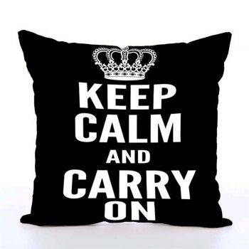 Decorative Throw Pillows Letters Graphic Printed Cushion 5