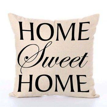 Decorative Throw Pillows Letters Graphic Printed Cushion 2