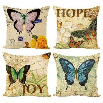 Pillow Covers Animal Butterfly Cushion 1