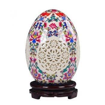 Table Vase Pierced Lucky Egg Vase 1