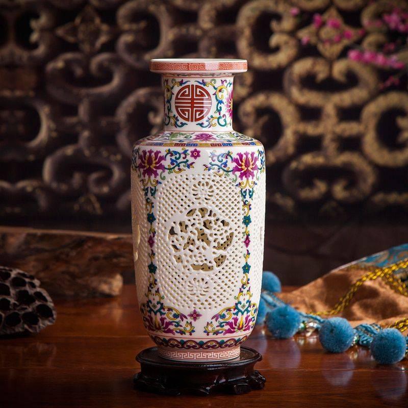 Home Decor Vases Handicraft Ceramic Vase