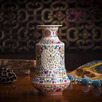 Home Decor Vases Handicraft Ceramic Vase 3