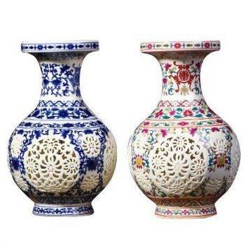Home Decor Vases Handicraft Ceramic Vase 5