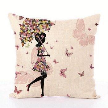 Kids Decorative pillows Fairy Printed Decorative Cushion 1