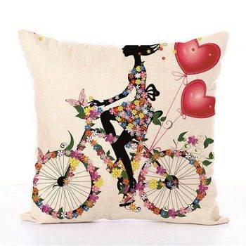 Kids Decorative pillows Fairy Printed Decorative Cushion 5