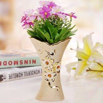 Ceramic Vase Modern Decorative Flower Vase 4