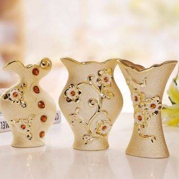 Ceramic Vase Modern Decorative Flower Vase 2