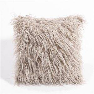 Super Soft Faux Fur Cushion Cover Sofa Home Decor Pillowcase