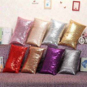 Rectangle Long Glitter Pillowcase Home Decorative Cushion Cover