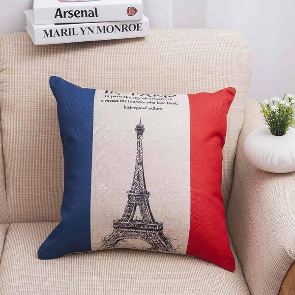 National Flag Pillowcase Single-sided Printing Cushion Cover