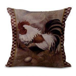 Chicken Printing Decoration Pillowcase Home Sofa Cushion Cover