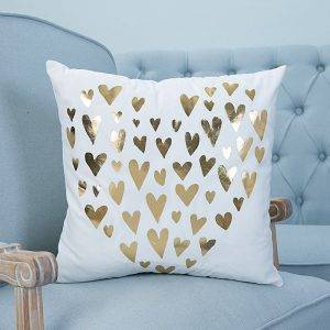 Square Letter Pillowcase Sofa Seat Cushion Cover