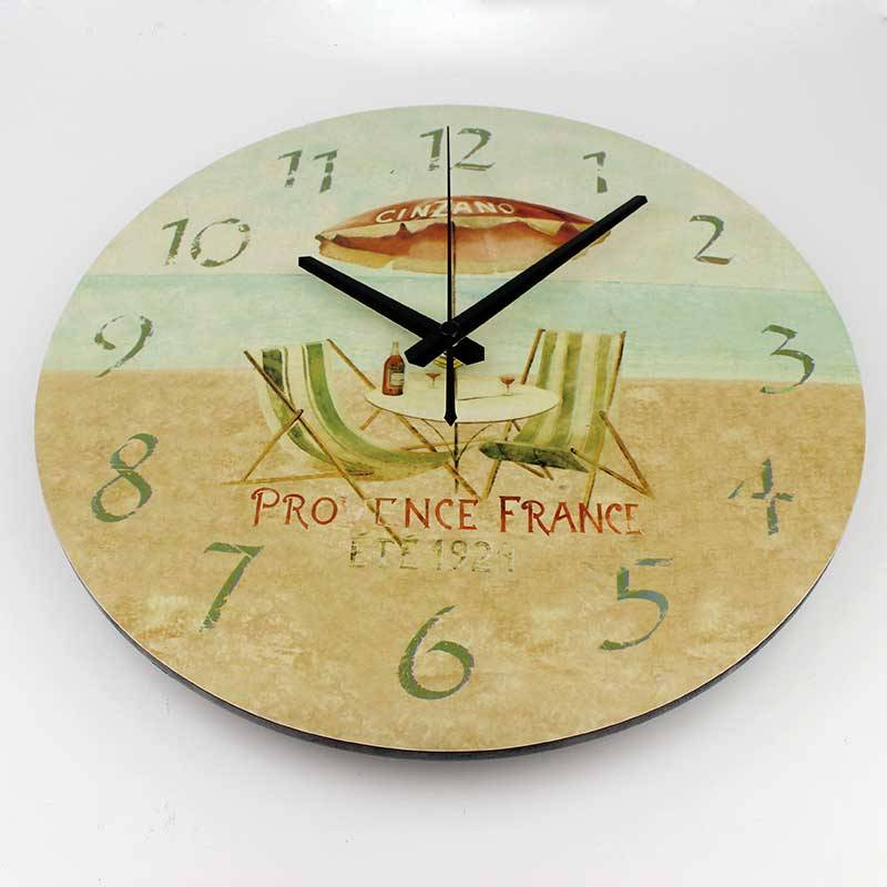 Modern Large Wall Clock Kitchen Decorative Vintage Watch