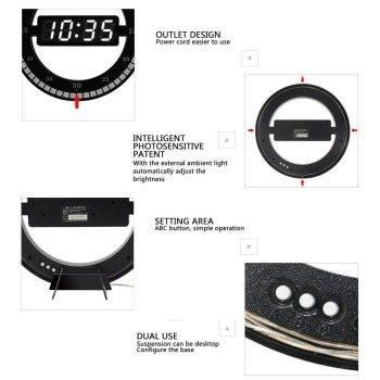 Digital Led Wall Clock Best Table Clock 4
