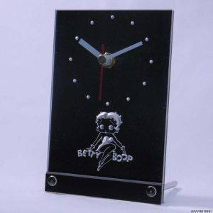 Beautiful Girl Lighted Clock 3D LED Wall Clock