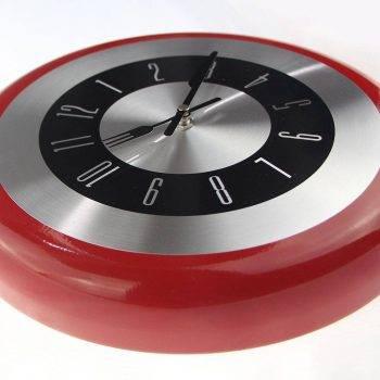 Metal Frying Pan Wall Clock Best Decoration Kitchen Clock 2
