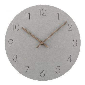 Slient Wooden Wall Clock Rustic Art Home Decor Clock 1