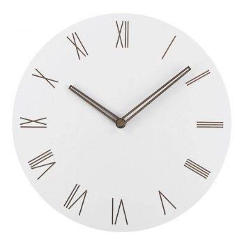 Slient Wooden Wall Clock Rustic Art Home Decor Clock 2