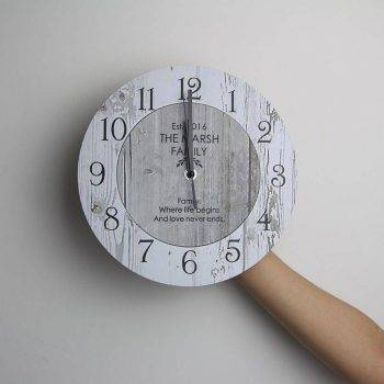 Wooden Classic Wall Clock Vintage Kitchen Wall Clock 3