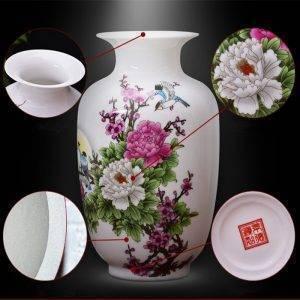 Ceramic Flower Vase Large Landscape Vases