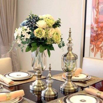 Decorative Glass Vases Artificial Flower Vases 3