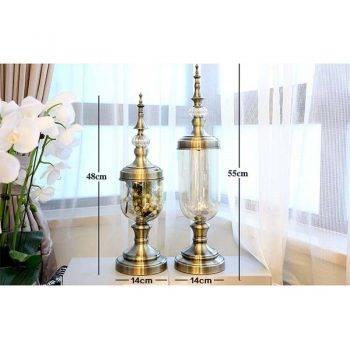 Decorative Glass Vases Artificial Flower Vases 1