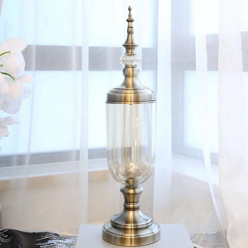 Decorative Glass Vases Artificial Flower Vases
