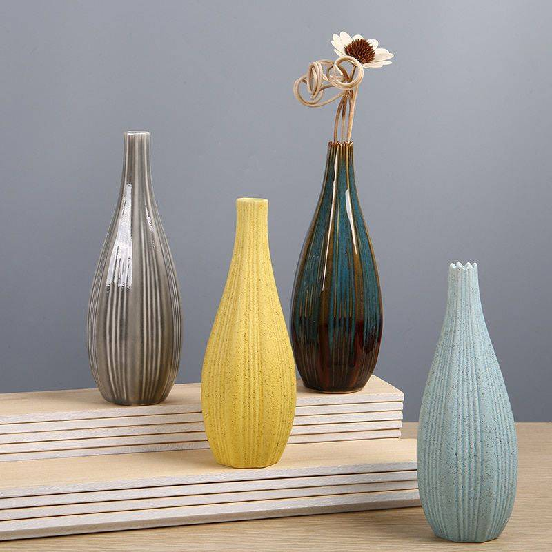 Ceramic Flower Vases Decoration Office Flower Pot