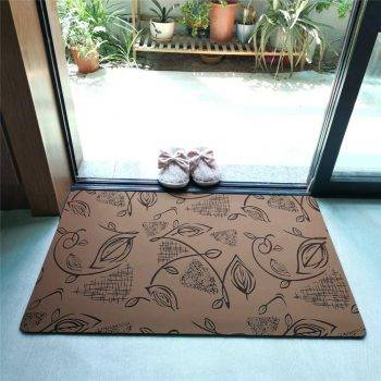 Decorative Rubber Backed Non Slip Rugs For Kitchen Carpet In Bathroom Trend 3