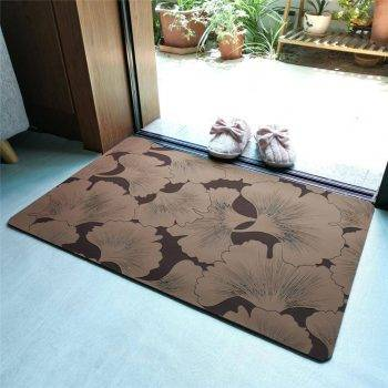 Decorative Rubber Backed Non Slip Rugs For Kitchen Carpet In Bathroom Trend 2