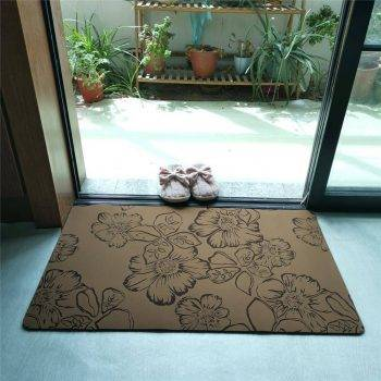 Decorative Rubber Backed Non Slip Rugs For Kitchen Carpet In Bathroom Trend 1