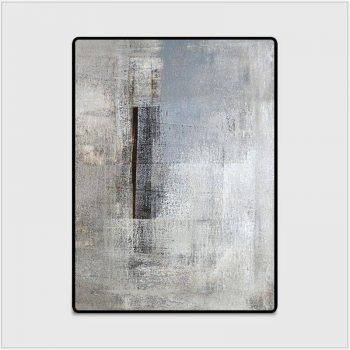 Modern Abstract Black/Gray Rug For Living Room/Bedroom/Kitchen 5